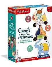 Clementoni- Petit Savant - Telt met dieren, 52363, meerkleurig