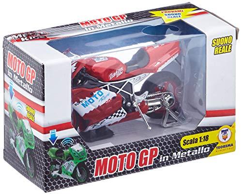 Teorema Giocattoli- MotoGP Moto G.P con Suono Colori, Multicolore, 3.TE60609