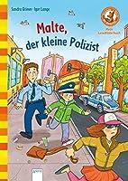 Malte, der kleine Polizist: Der Buecherbaer: Mein LeseBilderbuch