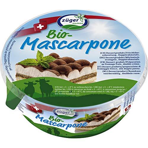 Züger Frischkäse AG Bio Bio Mascarpone Crème 250g (6 x 250 gr)
