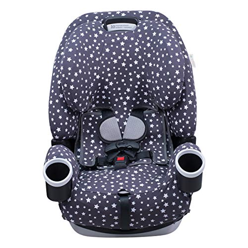 Baby Car Seat Cover with 2 in 1 Combo Warming and Cooling Pad Accident and Spill Protector Machine Washable Fabric with 2 Removable Gel Pouches O2COOL Cutie Cabootie Multi-Use Liner