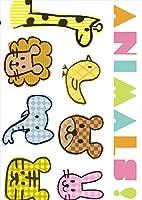 igsticker ポスター ウォールステッカー シール式ステッカー 飾り 1030×1456㎜ B0 写真 フォト 壁 インテリア おしゃれ 剥がせる wall sticker poster 009392 英語 動物 キャラクター