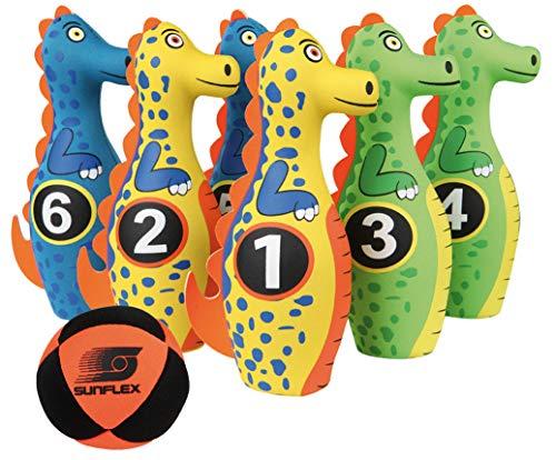 sunflex Kegelset Dino aus Neopren für Kinder, Outdoor