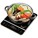 Good and stable features: Rosewill 1800 Watt, Induction Cooktop with Stainless Steel Pot Review