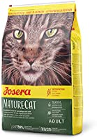 JOSERA NatureCat (1 x 2 kg) | spannmålsfri kattmat med fjäderfä och lax | Super Premium torrfoder för vuxna katter | 1-pack