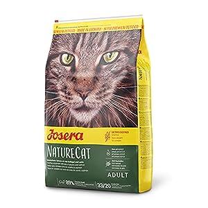 JOSERA NatureCat| getreidefreies Katzenfutter mit Geflügel und Lachs | Super Premium Trockenfutter für ausgewachsene… 1