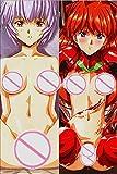 Neon Genesis -Rei Ayanami-Asuka Langley Soryu Anime dakimakura 160x50cm 2 Way Tricot Japanese Pillowcases