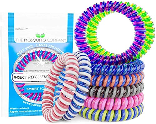 The Mosquito Company Insect Repellent Bracelets 10-Piece