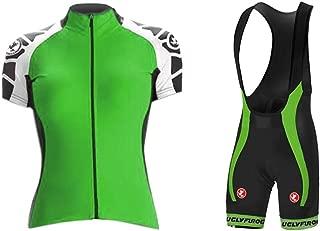 Uglyfrog Cycling Jersey Short Sleeve Women MTB Bike Clothing Road Bicycle Shirts Shorts Padded Pants