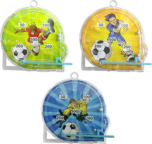 Footballeur mini-flipper (12 Fourni)