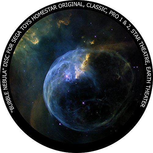 Bubble Nebula disc for Segatoys Homestar Pro 2, Classic, Original, Earth Theater Home Planetarium
