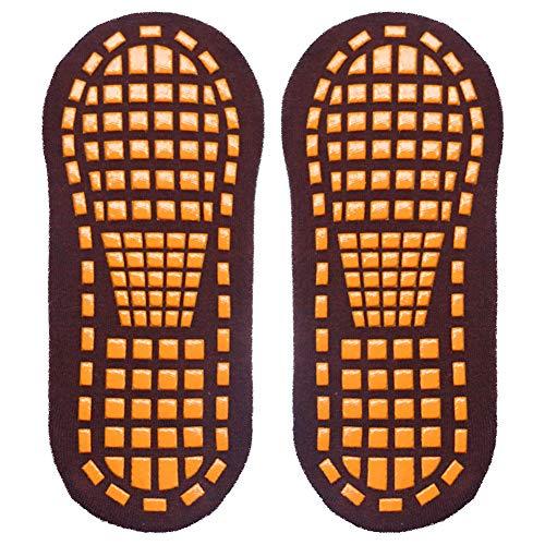 Hzb821zhup Rutschfeste Bodensocken Baumwolle Yoga Socken Sohlen Kleber Sportsocken Yoga Trampolin Spielplatz Atmungsaktive Bodensocken