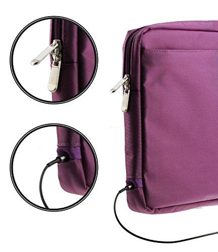 Navitech Lila Premium Case/Cover Trage Tasche für das Lenovo Flex 11 Chromebook 11.6-Inch