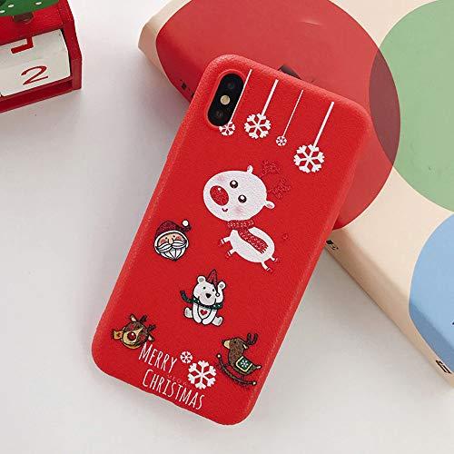 Momoxi Handyhülle, Phone Accessory Handy-Zubehör Frohe Weihnachten Handyhülle Xmas TPU Ultra Thin Hülle für iPhone X 5.8 Zoll, begrenzte Anzahl