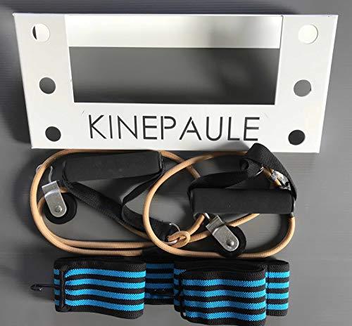 KINEPAULE – Rehabilitación del hombro, sistema de doble poleas con separación preconfigurada fácil de usar, recomendado en caso de subluxation, Luxation, Entorse, choques, Capsulite, Tendiniti