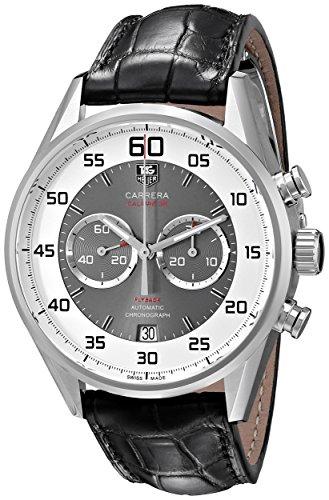 TAG Heuer Men's CAR2B11.FC6235 Carrera Analog Display Swiss Automatic Black Watch
