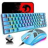 Best Mini Mechanical Keyboards - 60% Mechanical Gaming Keyboard Mini 68 Keys Wired Review