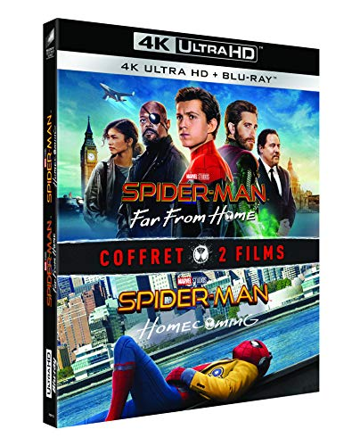 Coffret spider-man 2 films : homecoming ; far from home 4k ultra hd