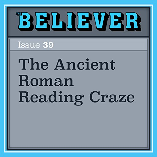 The Ancient Roman Reading Craze audiobook cover art