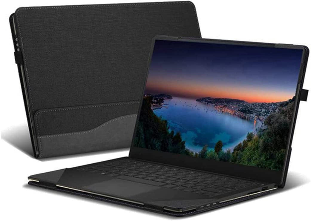 Honeycase Case Compatible with Dell Inspiron 3501/3502/ 3505/15-5593-D1305S/ 15-5593-D1405S, PU Leather Hard Shell Case Compatible with Dell Vostro 15 3500 15.6