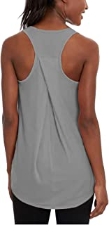 Bestisun Racerback Workout Tank Top Sports Yoga Shirts Activewear Fitness Tanks for Gym Women