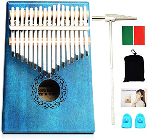 17 Keys Kalimba, High quality Mahogany...