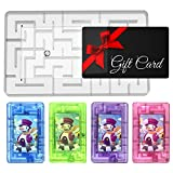 5 PCS Gift Card Holder Maze Puzzle, Creativity Money Puzzle Gift Boxes for Cash or Gift Cards, Intellectual Pinball Machine Game, Fun and Challenging for Kids and Adults