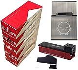 ELIKVAP Tubeuse a Cigarette Gizeh Silver + 1000 Tubes a Cigarette Marlboro + Boite a Cigarette