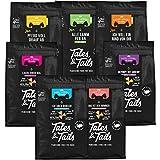 Tales and Tails großer Trainingsmix I 7 Sorten I 100% Fisch I 100% Fleisch I gesund&natürlich Trainieren und Belohnen I 7 Tüten - Verschiedene Sorten