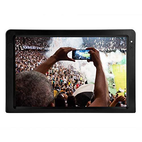 Televisor portátil de 12 pulgadas, HD DVB T/T2, televisión
