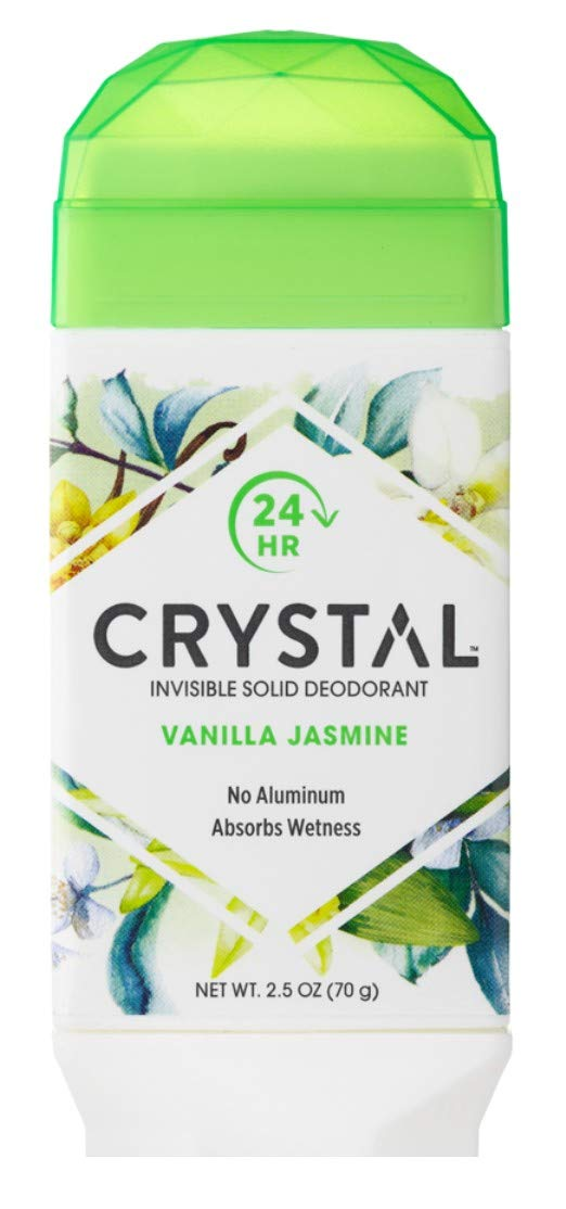 Crystal Deodorant Solid Stick 2.5 Pack Vanilla Brand New Free Shipping Cheap Sale Venue Ounce of Jasmine