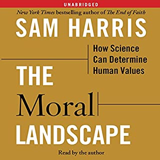 The Moral Landscape audiobook cover art