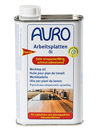 AURO Arbeitsplattenöl PurSolid Nr. 108 farblos, 0,5 Liter