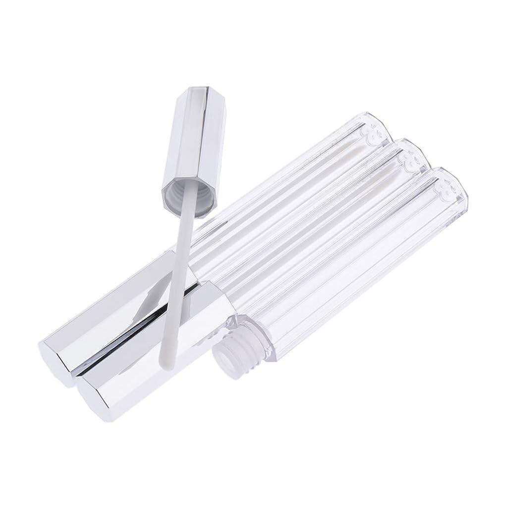 適切な確認する削減DYNWAVE リップグロス 容器 チューブ リップスティック 空 5ml 口紅 リップクリーム 香水 コンシーラー