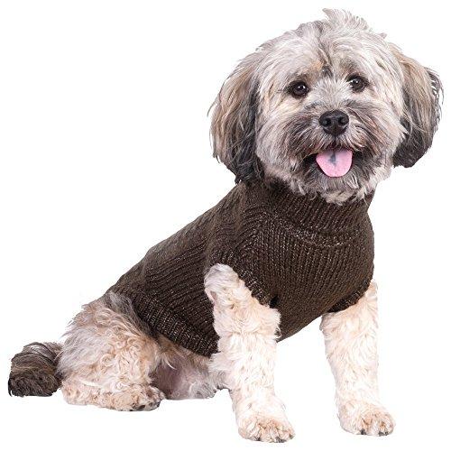 TRIXIE Langley Hund Pullover, 21cm, braun