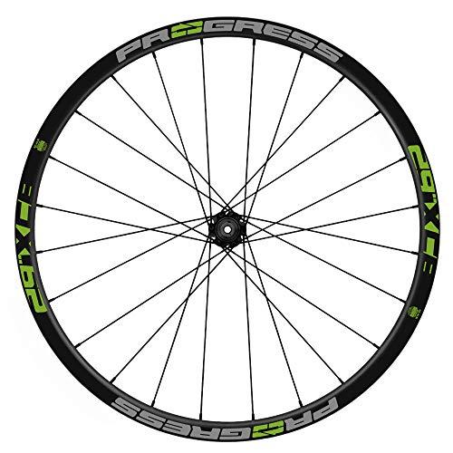 Pegatinas Llantas Bicicleta Progress XCB 29 Bicolor WH51 Verde 063