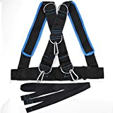 MOPHOEXII Multi Purpose Training Sled Harness Vest, Speed Strength Training Sled Shoulder Harness Resistance Band Belt-Children, Female up to 40 inches Girth