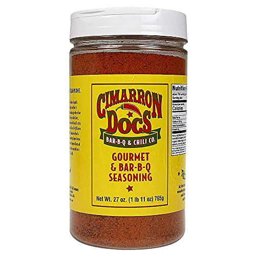 Cimarron Docs Sweet Rib Rub & Bar-b-q Seasoning Large 1 lb 10 oz (26 oz)