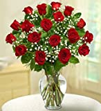red roses are romantic flowers