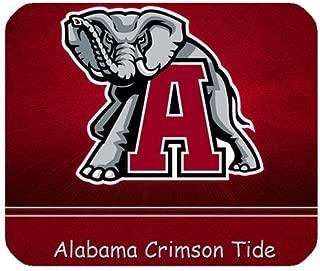 1 X Alabama Crimson Tide NCAA College Football Team Logo Personalized Rectangle Mouse Pad (Alabama)