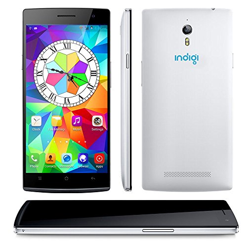 """Indigi® 5.5"""" 3G Unlocked Android Smartphone Cell Phone GPS WiFi Bluetooth AT&T T-Mobile Straight Talk Dual-SIM"""