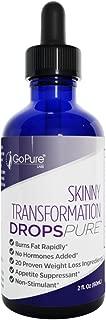 Go Pure Skinny Transformation Drops Pure - 2 Ounce
