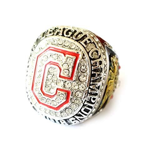 2016 Cleveland Indians U.S. World Series Championship Ring Ringe Replik Kreativer Ring für Frauen und Männer Champion Ring,with Box,13
