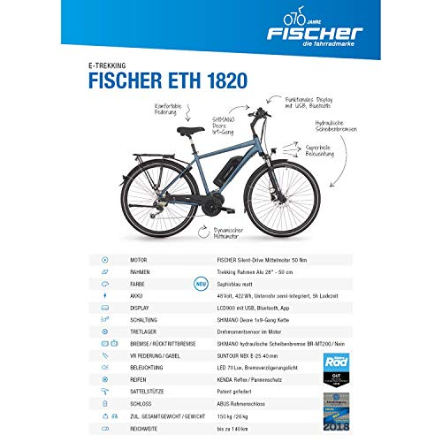 Elektrofahrrad Fischer Herren E-Bike Bild 2*