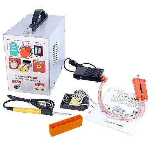 Sunkko 709A 110V 2 in 1 1.9kw Pulse Spot Welder Battery Welding Soldering Machine 60A