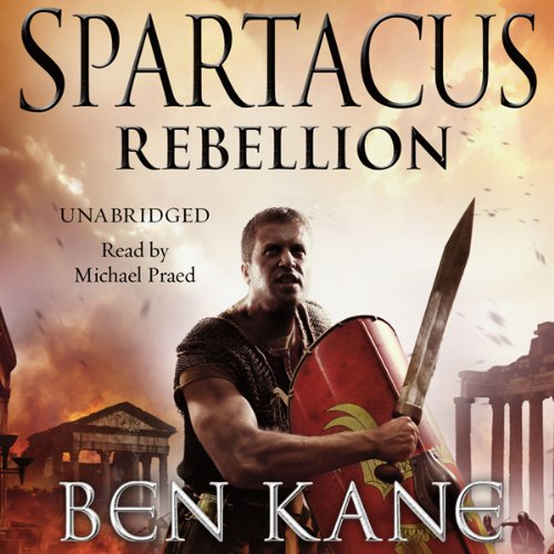 Spartacus: Rebellion audiobook cover art