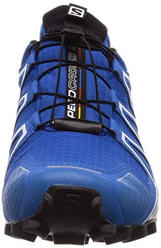 Salomon Speedcross 4 GTX Zapatillas Impermeables De Trail Running Hombre, Azul (Sky Diver/Indigo Bunting/Black), 42 EU