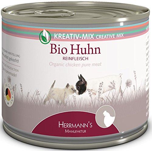 Herrmanns Bio Huhn 100 Prozent, 12er Pack (12 x 200 g)