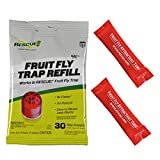Refillable attaractant : RESCUE! FFTA Non-Toxic Fruit Fly Trap Attractant Refill, 30 Days ultrasonic rodent repeller Oct, 2020