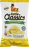 Utz Kettle Classics Reduced Fat Crunchy Potato Chips 8 oz. Bag (3 Bags)